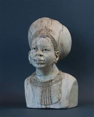 African Married Zulu Maiden bust