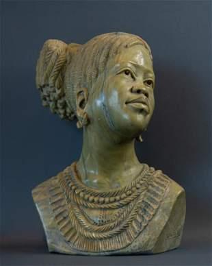 Zulu Princess bust