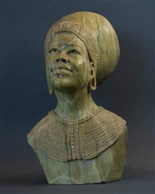 Zulu Married Women bust