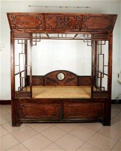 China Republic hardwood wedding bed