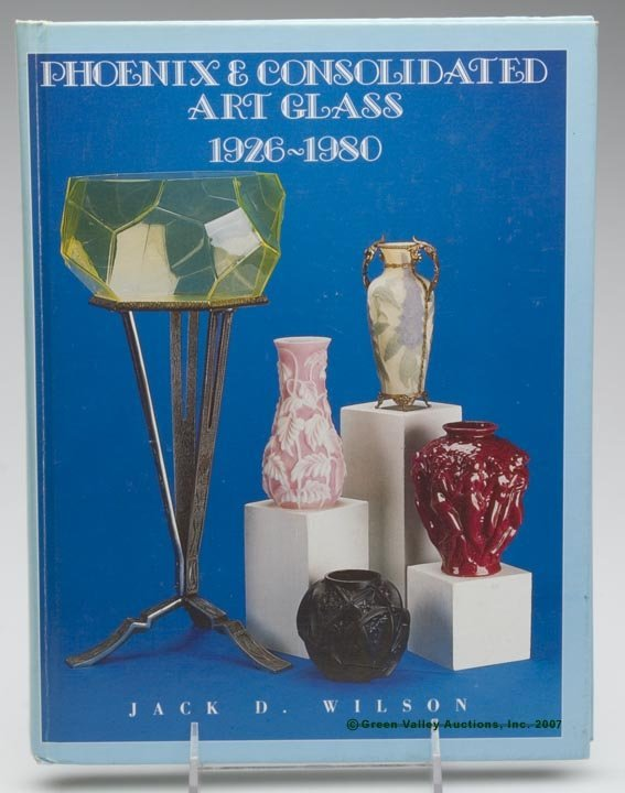 """3: ART GLASS REFERENCE BOOK, """"Phoenix & Consolidated Ar"""