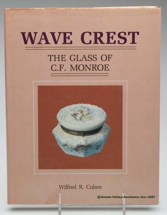 """4: ART GLASS REFERENCE BOOK, """"Wave Crest, The Glass of"""