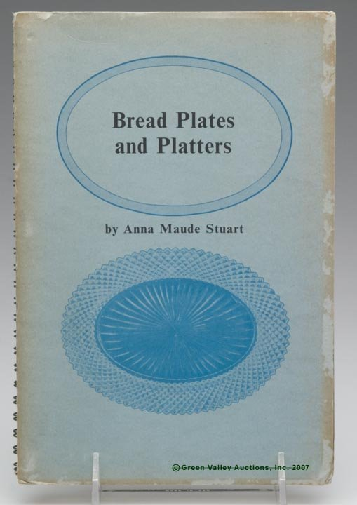 """6: BREAD PLATE REFERENCE BOOK, """"Bread Plates and Platte"""