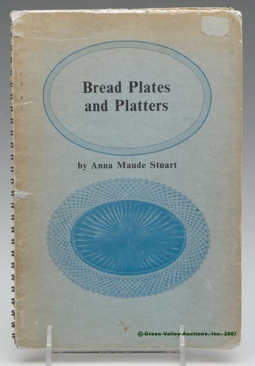 """7: BREAD PLATE REFERENCE BOOK, """"Bread Plates and Platte"""