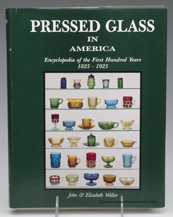 """9: EARLY AMERICAN PRESSED GLASS REFERENCE VOLUME, """"Pres"""
