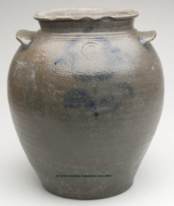 1027: RICHMOND OR HENRICO CO., VA DECORATED SALT-GLAZED