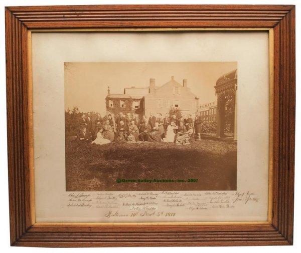 1302: CABINETMAKER JOHN NEEDLES AND FAMILY, BALTIMORE,