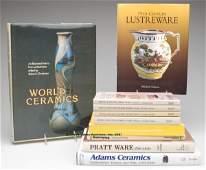 1704: VARIOUS ENGLISH AND CONTINENTAL CERAMICS REFERENC