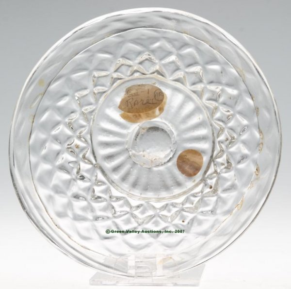 2003: LEE/ROSE NO. 3 CUP PLATE, blown molded GII-1, col