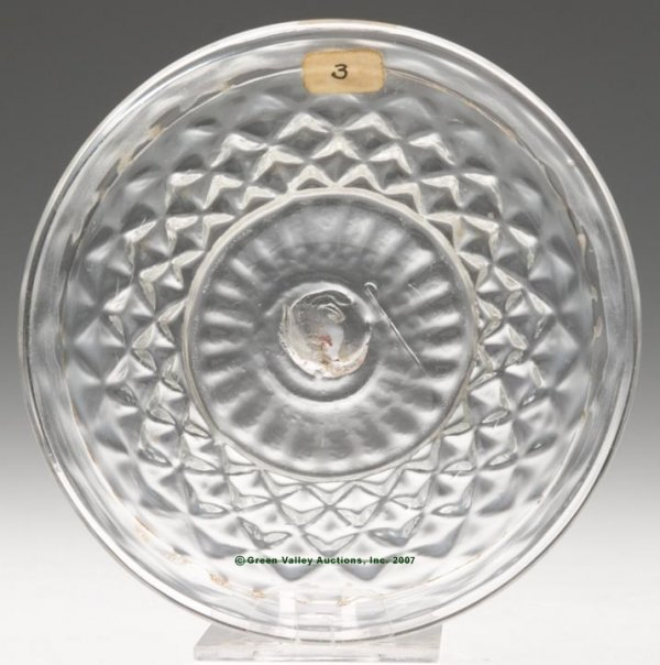 2004: LEE/ROSE NO. 3-X-1 CUP PLATE, blown molded GII-1,