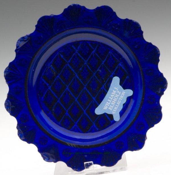 2009: LEE/ROSE NO. 20 CUP PLATE, deep cobalt blue, 15 s