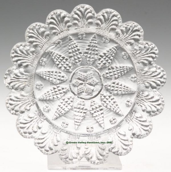 2011: LEE/ROSE NO. 28-X-1 CUP PLATE, colorless, unrecor