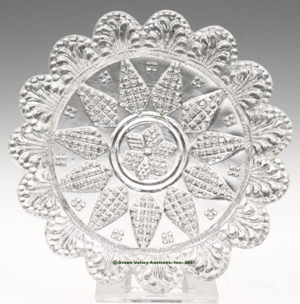 2012: LEE/ROSE NO. 31 CUP PLATE, colorless, 15 even sca
