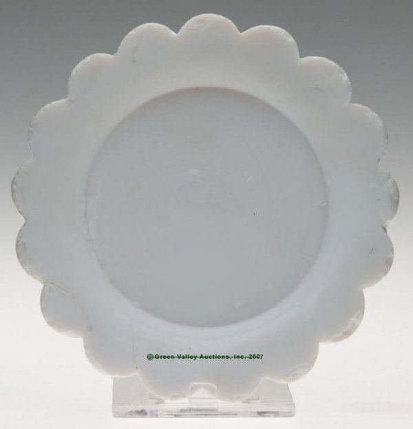 2015: LEE/ROSE NO. 37 CUP PLATE, unrecorded opaque chal