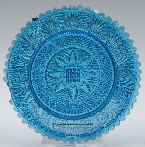 2017: LEE/ROSE NO. 40 CUP PLATE, peacock blue, 55 even