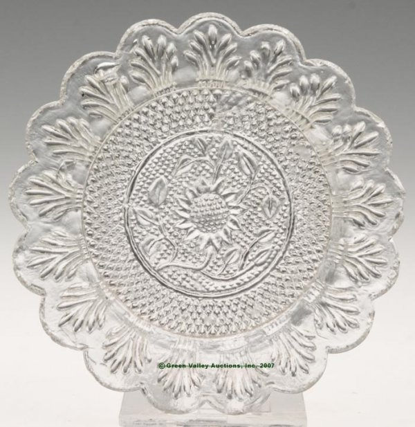 2021: LEE/ROSE NO. 44 CUP PLATE, colorless, 17 even sca