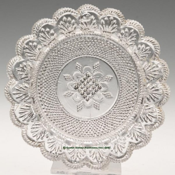 2022: LEE/ROSE NO. 45 CUP PLATE, colorless, 19 even sca