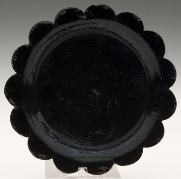 2024: LEE/ROSE NO. 46 CUP PLATE, unrecorded opaque blac