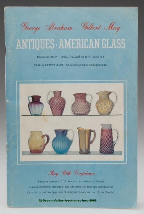 451: ABRAHAM AND MAY AMERICAN GLASS SALES CATALOG, over