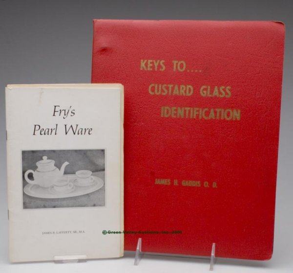467: FRY AND CUSTARD REFERENCE VOLUMES, LOT OF TWO, Laf