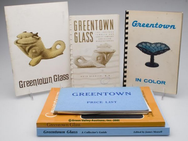 468: GREENTOWN REFERENCE VOLUMES, LOT OF SIX, Boyd/Andr