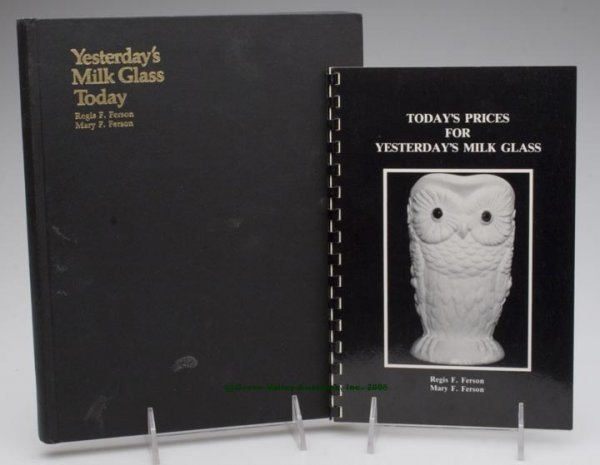 471: MILK GLASS REFERENCE VOLUME, Regis F. and Mary F.