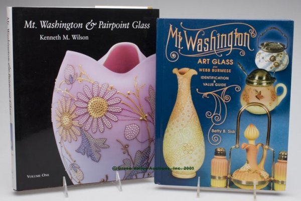 474: MT. WASHINGTON REFERENCE VOLUMES, LOT OF TWO, Wils