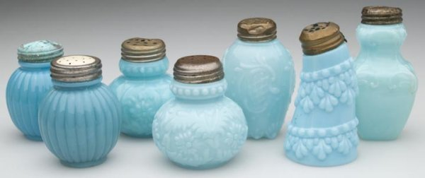 1518: CONSOLIDATED SALT SHAKERS - VARIOUS PATTERNS, LOT