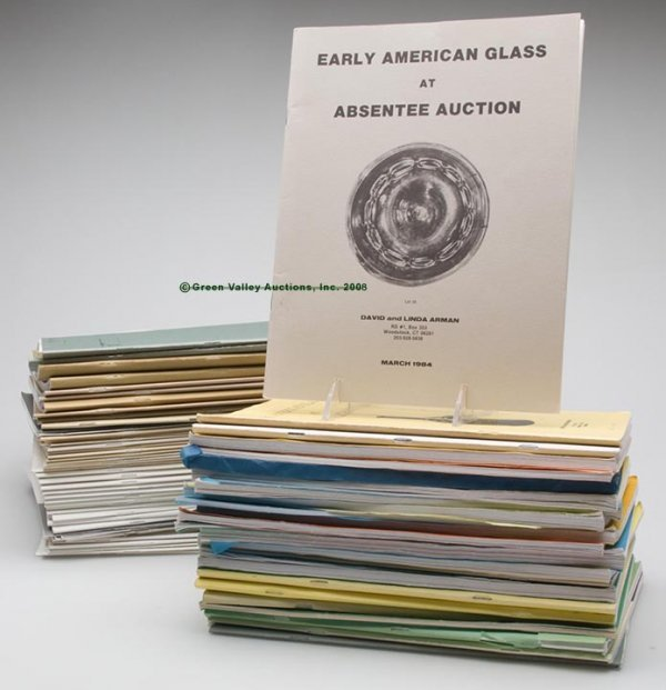 322: ARMAN AND C. S. & S. AUCTION CATALOGS, LOT OF 79,