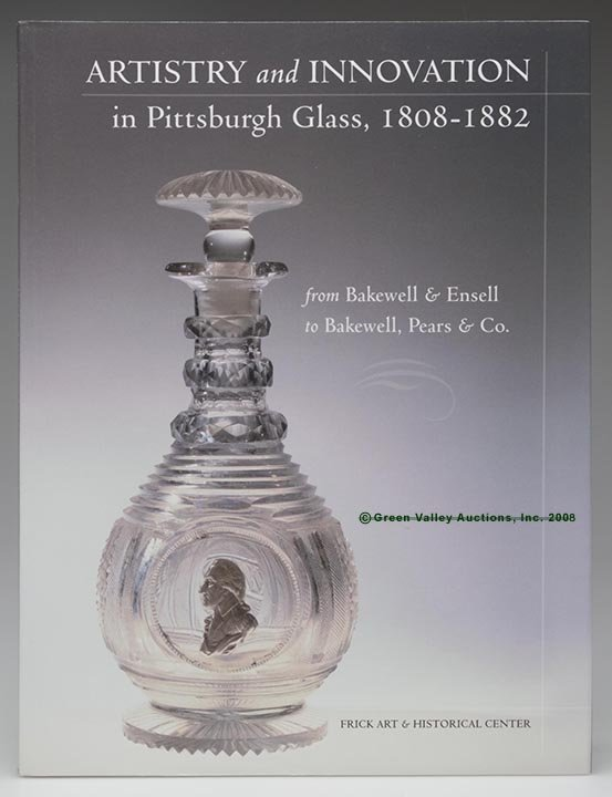 """330: PITTSBURGH GLASS REFERENCE VOLUME,  """"Artistry and"""