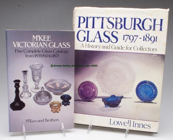 331: PITTSBURGH GLASS REFERENCE VOLUMES, LOT OF TWO,  L