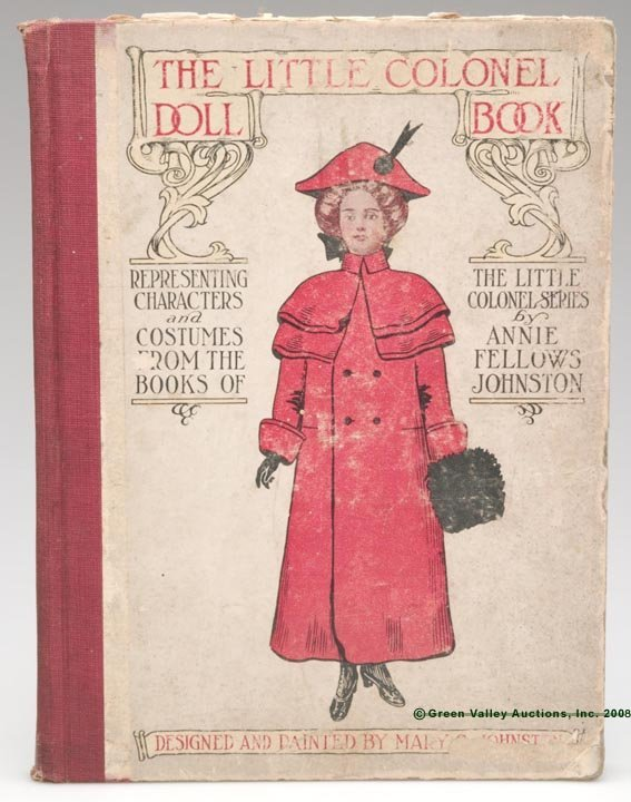 """1015: LITTLE COLONEL BOOK OF PAPER DOLLS,  """"The Little"""