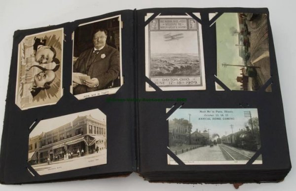 1086: ALBUM OF MIXED POST CARDS, APPROXIMATELY 500,  al