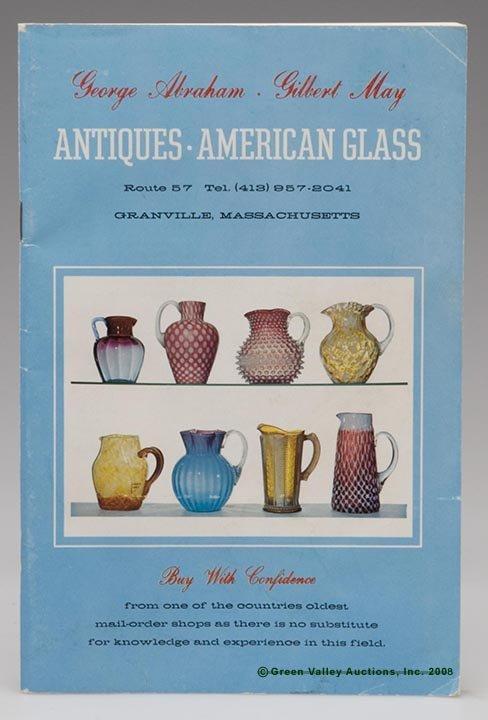 1000: ABRAHAM & MAY AMERICAN GLASS SALES CATALOG, inclu