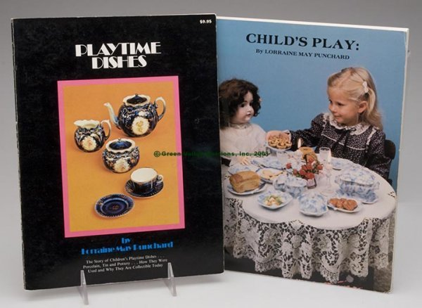 1005: CHILDREN'S TOY DISHES REFERENCE VOLUMES, LOT OF T