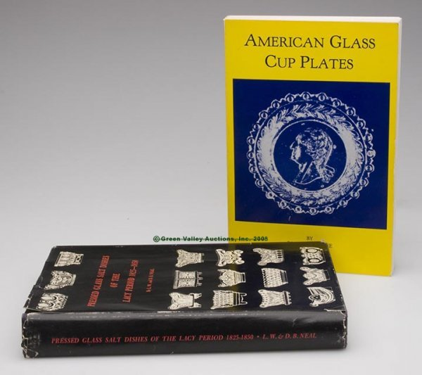 1018: LACY GLASS REFERENCE VOLUMES, LOT OF TWO, Neal's