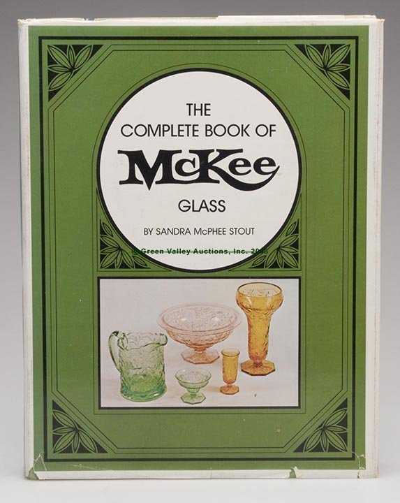 """1020: MCKEE GLASS REFERENCE VOLUME, """"The Complete Book"""