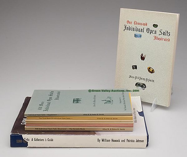 1023: OPEN SALTS REFERENCE VOLUMES, LOT OF EIGHT, Allen