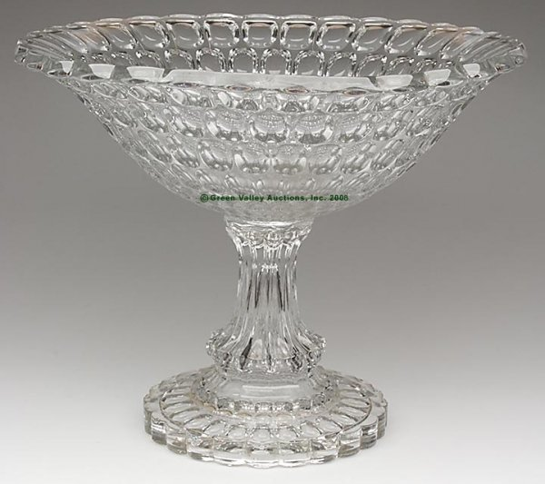 1493: EARLY THUMBPRINT / ARGUS PUNCH BOWL ON HIGH STAND
