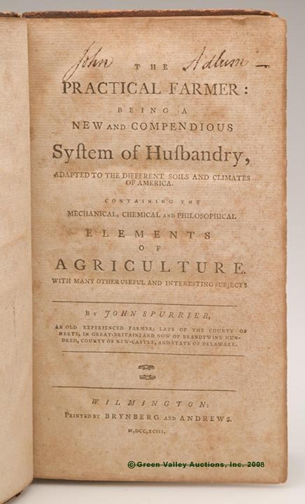 622: THE PRACTICAL FARMER VOLUME OWNED BY PIONEERING AM