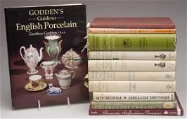 1680: BRITISH CERAMICS REFERENCE VOLUMES, LOT OF 11, Go