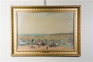 "Oscar Edmund Berninghaus, 1874-1952, ""View Of Potosi"