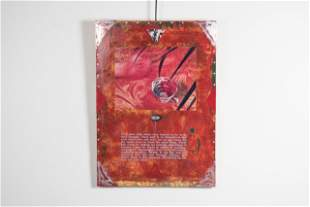 """Jerry Kunkel, """"In Search of Meaning"""", Mixed Media and"""