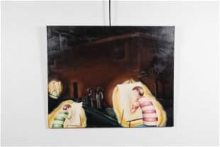 """Matt O'Neill, """"Art Students Depicting Urban Blight"""","""