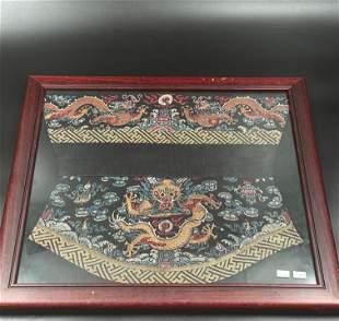 Antique dragon robe sleeve