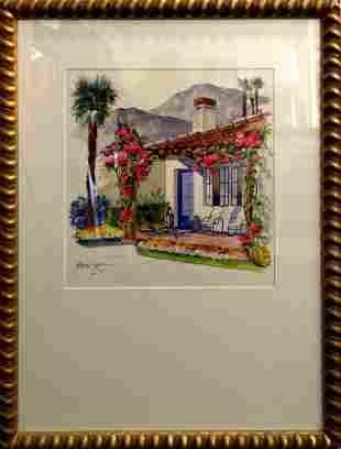 Elsie Grace Original Watercolor