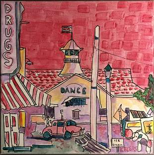"""Kimm Byers """"Pavilion Newport Early Days!"""" 2014"""