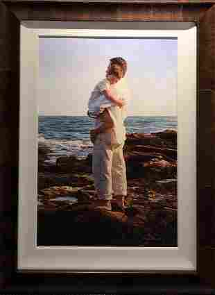"""Jean Monti """"Always There"""" Lithograph Signed"""