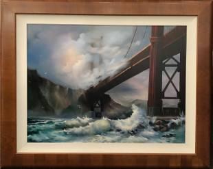 "Maria ""Golden Gate Bridge"" Signed Giclee"