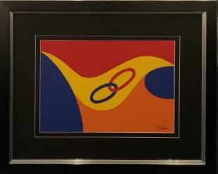 Alexander Calder Abstract Lithograph